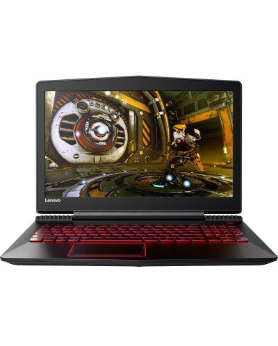 Гейминг лаптоп Lenovo - Y520-15IKBN, черен - 1
