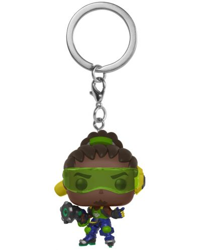 Ключодържател Funko Pocket Pop! Games: Overwatch - Lucio - 1
