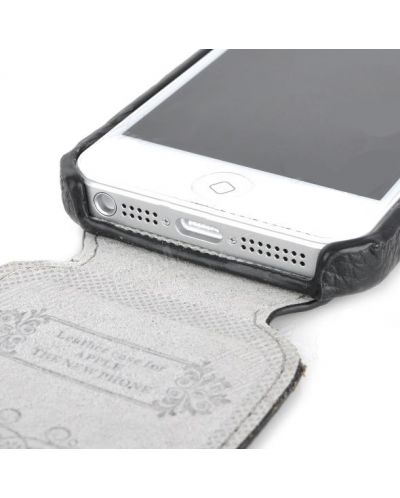 Lychee за iPhone 5 -  черен - 6
