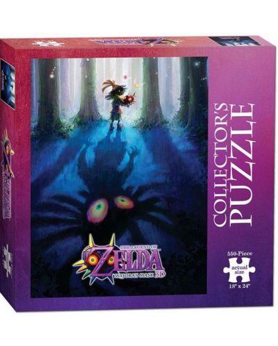Колекционерски пъзел USAopoly от 550 части - The Legend of Zelda: Mаjоrаs mаsк - Mоnstеr huntеr - 1