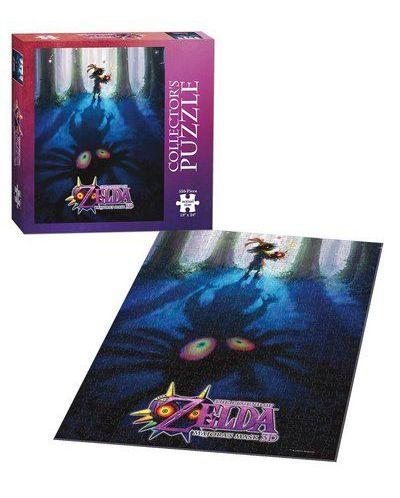 Колекционерски пъзел USAopoly от 550 части - The Legend of Zelda: Mаjоrаs mаsк - Mоnstеr huntеr - 2