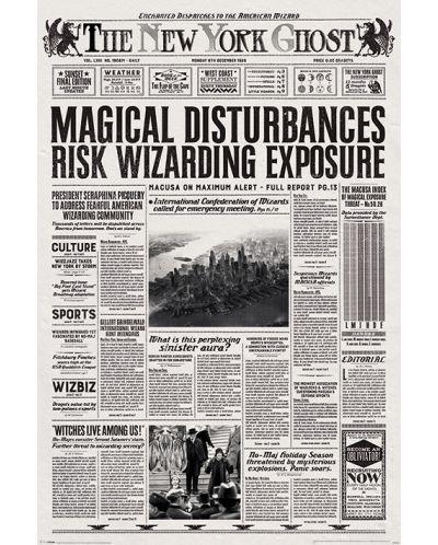 Макси плакат Pyramid - Fantastic Beasts (The New York Ghost) - 1