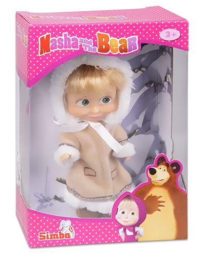 Кукла Simba Toys Маша с ескимоско палтенце - 1