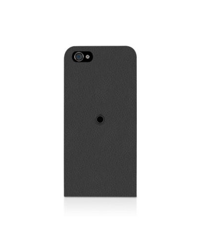 Macally Flip Case Rotatable Stand за iPhone 5 - черен - 2