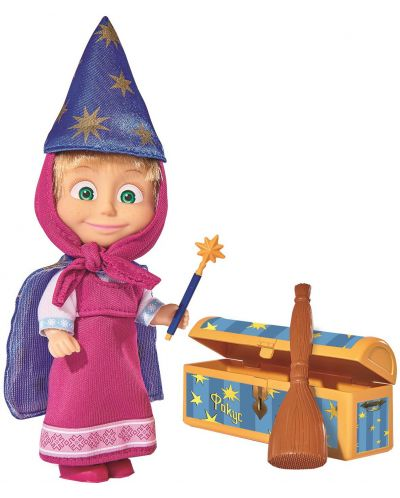 Кукла Simba Toys Маша и Мечока - Маша, фокусник - 1