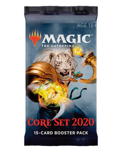 Magic the Gathering - Core Set 2020 Booster pack - 3