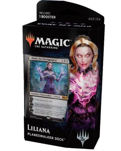 Magic the Gathering Core Set 2019 Planeswalker Deck - Liliana - 1