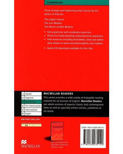 Macmillan Readers: Tales of Horror  (ниво Elementary) - 2