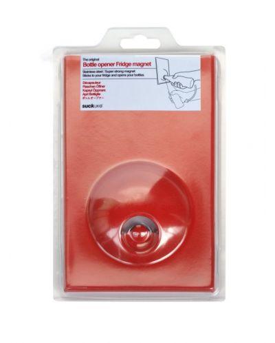 Магнитна, червена отварачка за бутилки - 1