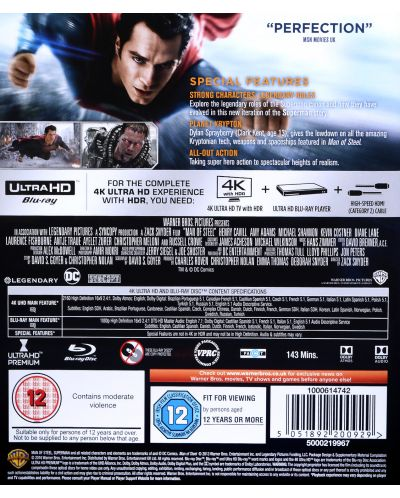 Man of Steel (4K UHD + Blu-Ray) - 2