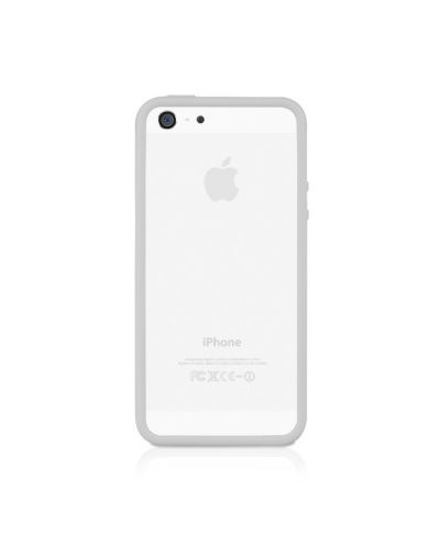 Macally Frame за iPhone 5 -  бял - 4