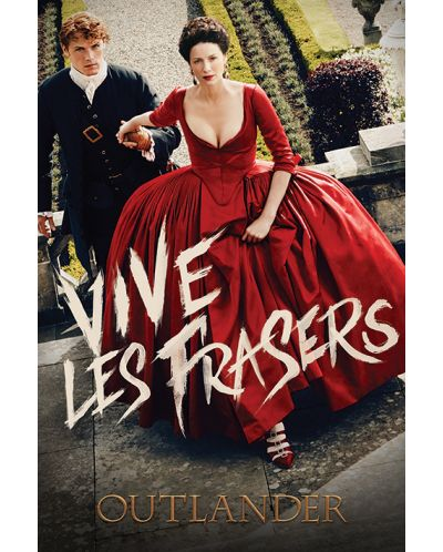 Макси плакат Pyramid - Outlander (Vive Les Frasers) - 1