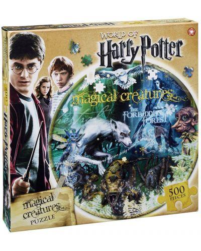 Пъзел от 500 части - Harry Potter Magical Creatures - 1
