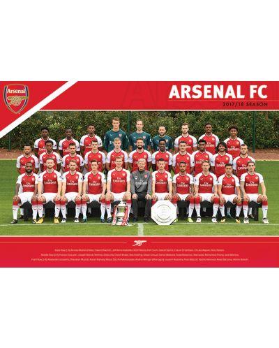Макси плакат Pyramid - Arsenal FC (Team 17/18) - 1
