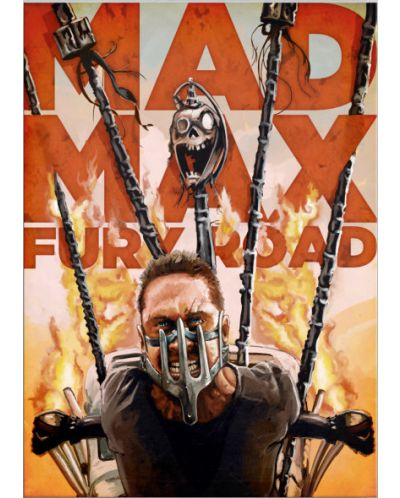 Метален постер Displate - Mad Max - Fury Road - 1