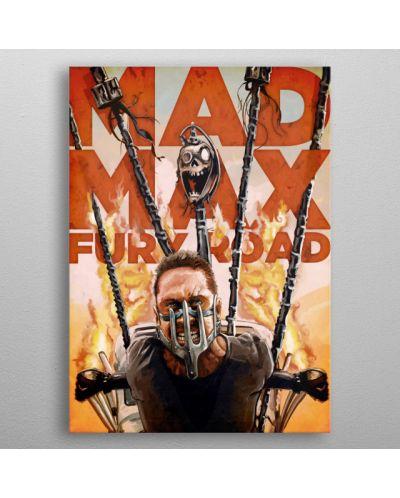 Метален постер Displate - Mad Max - Fury Road - 3