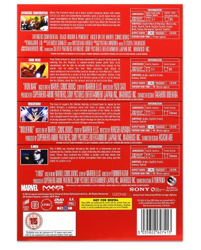 Marvel Anime Collection (DVD) - 4