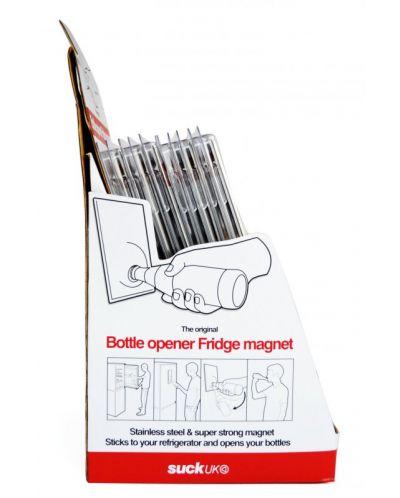 Магнитна, бяла отварачка за бутилки - 3