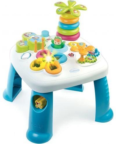 Детска масичка Smoby - Cotoons, с активности, синя - 1