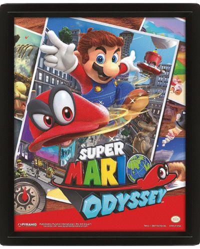 3D плакат с рамка Pyramid - Super Mario Odyssey: Snapshots - 1