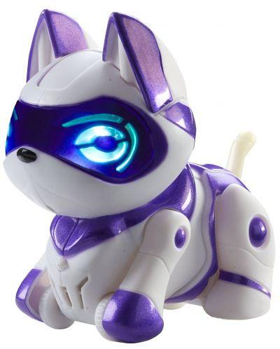 Интерактивна играчка Manley TEKSTA Micro Pets - Робот, Коте - 1