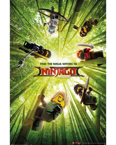 Макси плакат Pyramid - LEGO® Ninjago Movie (Bamboo) - 1