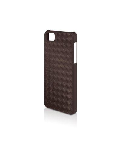 Macally Weave за iPhone 5 -  кафяв - 2