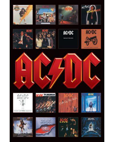 Макси плакат Pyramid - AC/DC (Album Covers) - 1