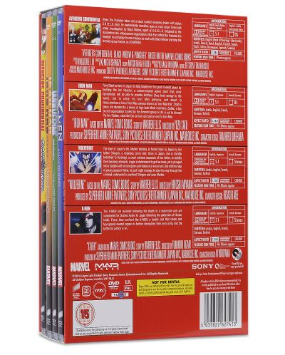 Marvel Anime Collection (DVD) - 3
