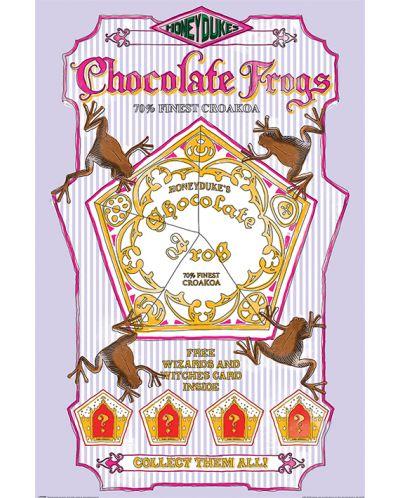 Макси плакат Pyramid - Harry Potter (Chocolate Frogs) - 1