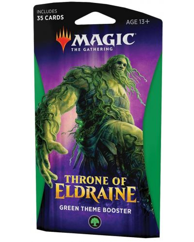 Magic the Gathering - Throne of Eldraine Theme Booster Green - 1