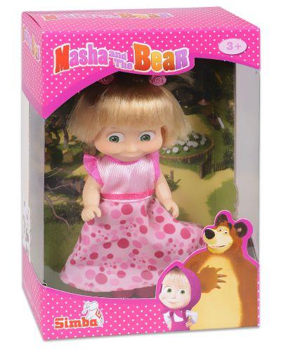 Кукла Simba Toys Маша с розова рокля и опашчици  - 1