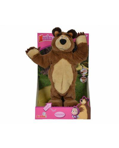 Плюшена музикална играчка от Маша и Мечока Simba Toys – Танцуващ Мечок - 2