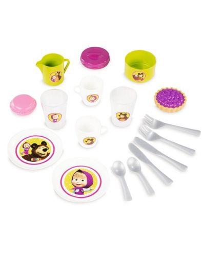 Комплект Smoby за детско чаено парти - Маша и Мечока - 1