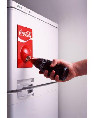 Магнитна, червена отварачка за бутилки - 2