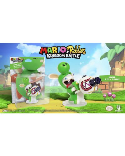 Mario + Rabbids Kingdom Battle: Rabbid Yoshi 3'' Figurine - 2