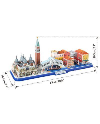 3D Пъзел Cubic Fun от 126 части - City Line Venezia - 2