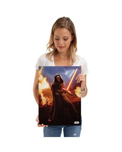 Метален постер Displate - Star Wars: Leader of the Knights - 2