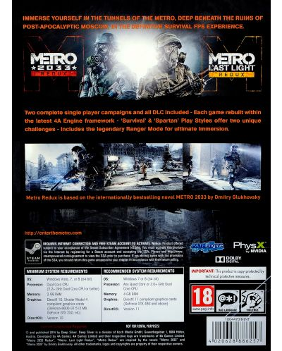 Metro Redux (PC) - 4