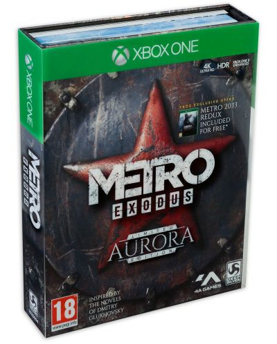 Metro: Exodus - Aurora Limited Edition (Xbox One) - 1