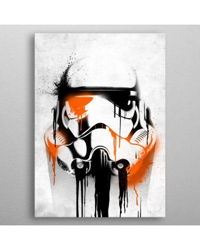 Метален постер Displate - Star Wars: Banksy - 3