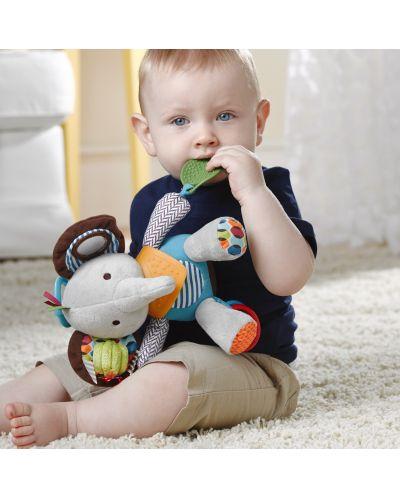 Мека играчка Skip Hop - Слонче, с гризалка - 3