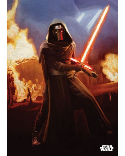 Метален постер Displate - Star Wars: Leader of the Knights - 1