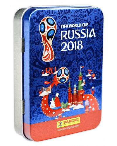 Колекционерска кутия Panini FIFA World Cup 2018 за съхранение на стикери - 1