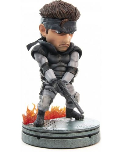 Статуетка First 4 Figures Metal Gear Solid - Solid Snake SD, 20cm - 3