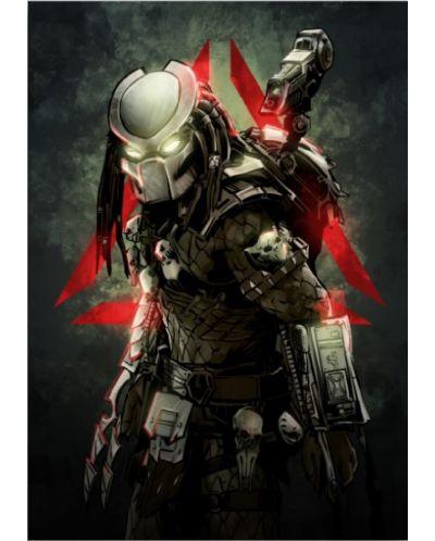 Метален постер Displate -  Predator - 1