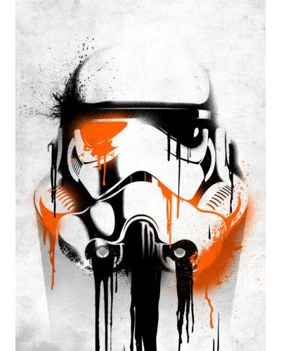 Метален постер Displate - Star Wars: Banksy - 1