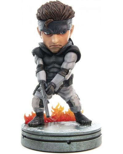 Статуетка First 4 Figures Metal Gear Solid - Solid Snake SD, 20cm - 1