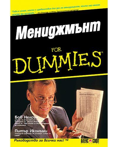 Мениджмънт For Dummies - 1
