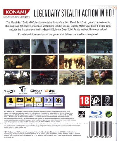 Metal Gear Solid: HD Collection (PS3) - 3